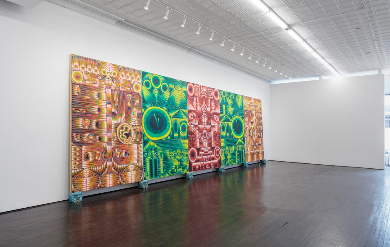altars of humanity   Installation view of <i>altars of humanity</i>, 2017