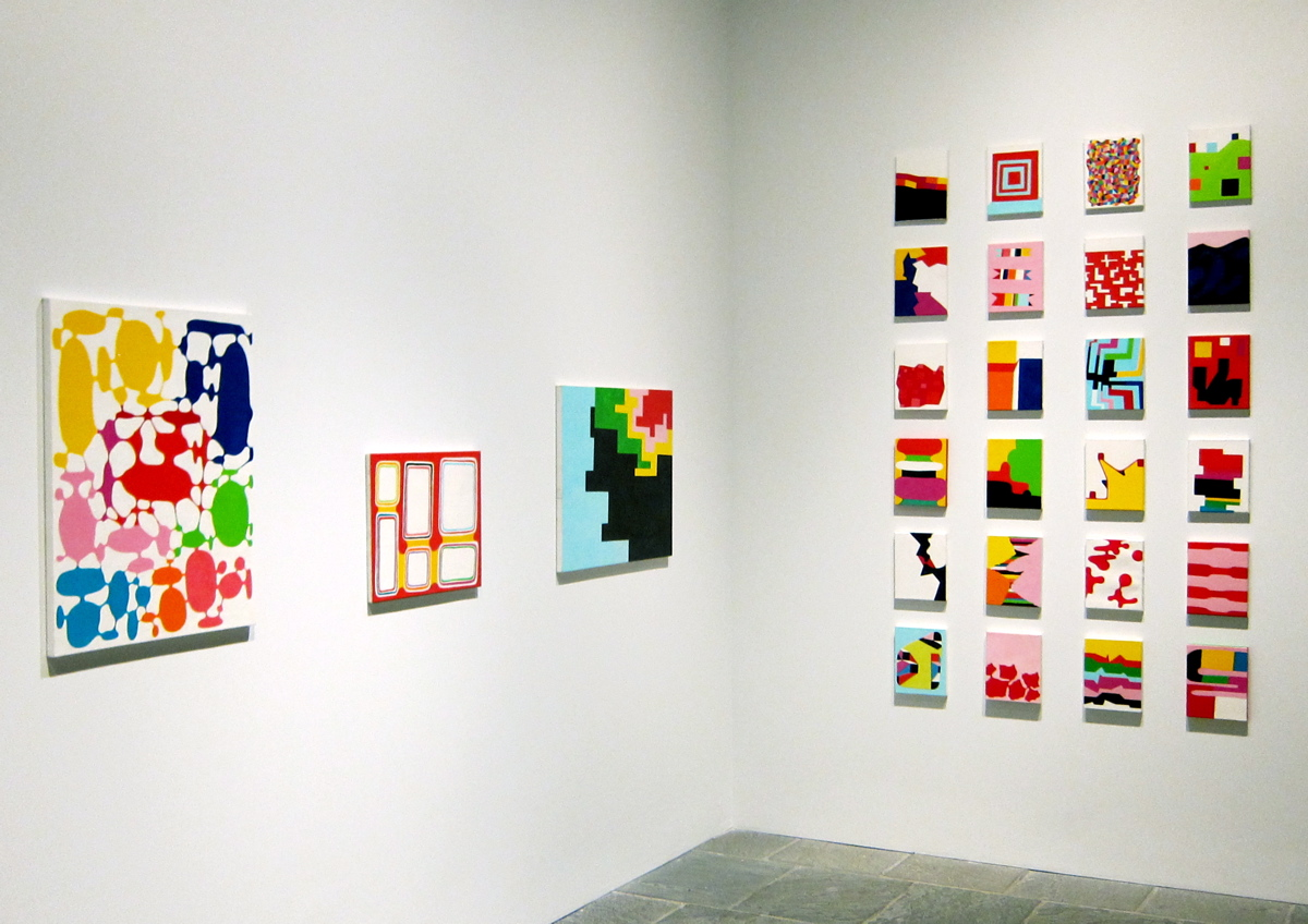 Andrew Masullo | Installation View of Whitney Biennial, 2012