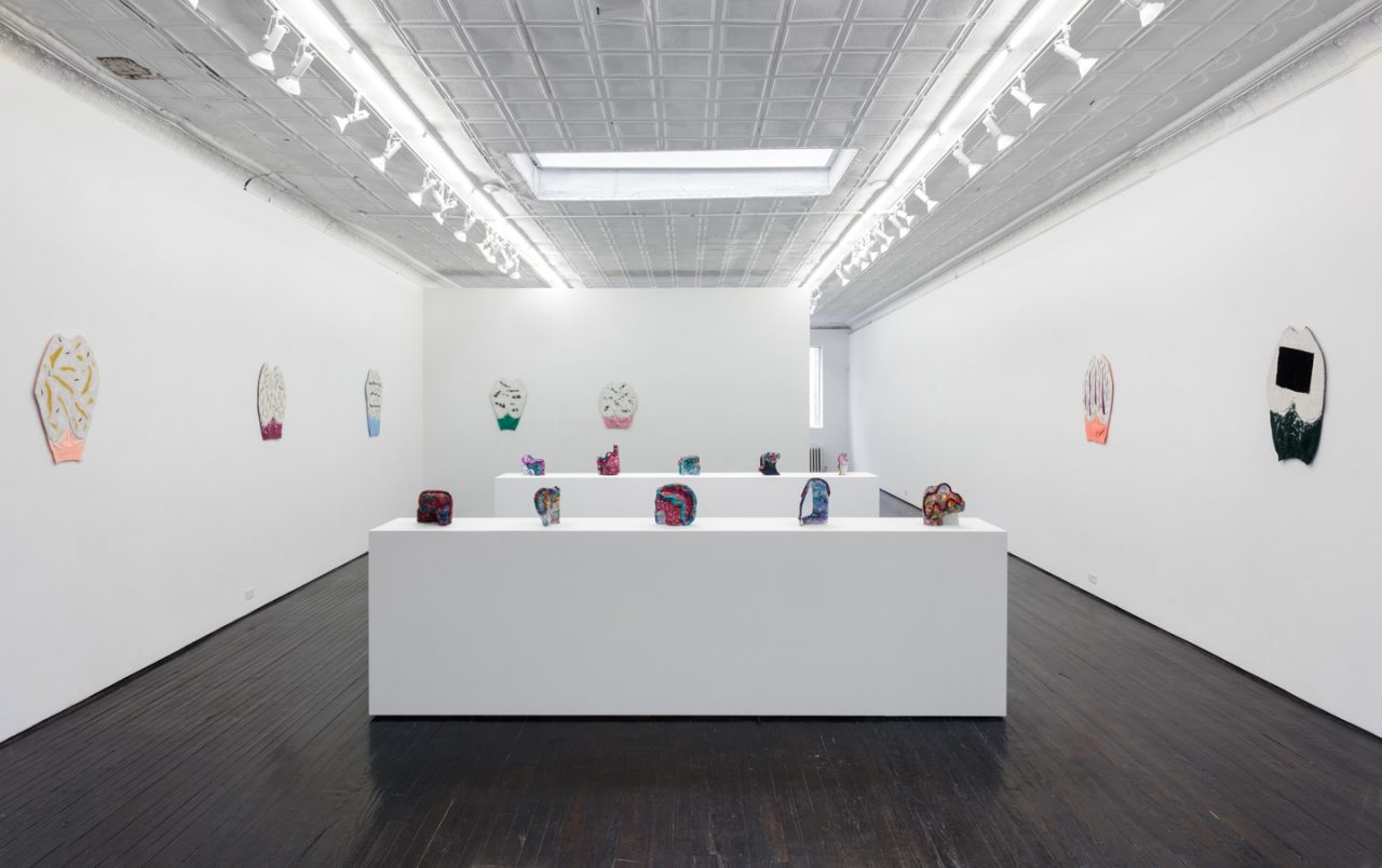 Jennifer Paige Cohen | Installation view of <i>Lately Like a Hummingbird</i>, 2018