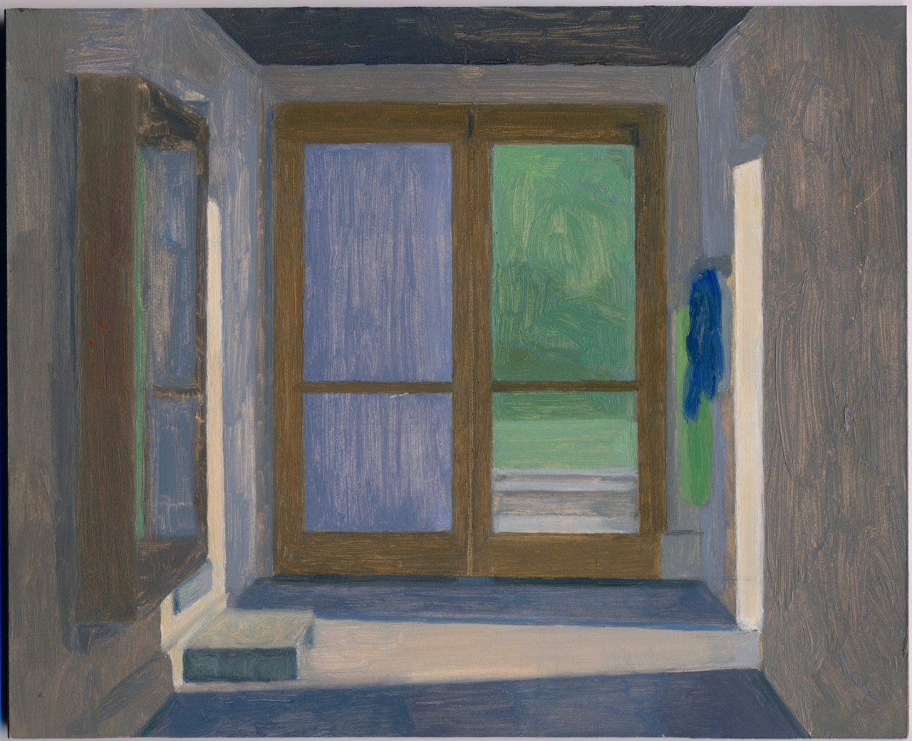 Eleanor Ray | Barn Hallway, Dusk, 2016