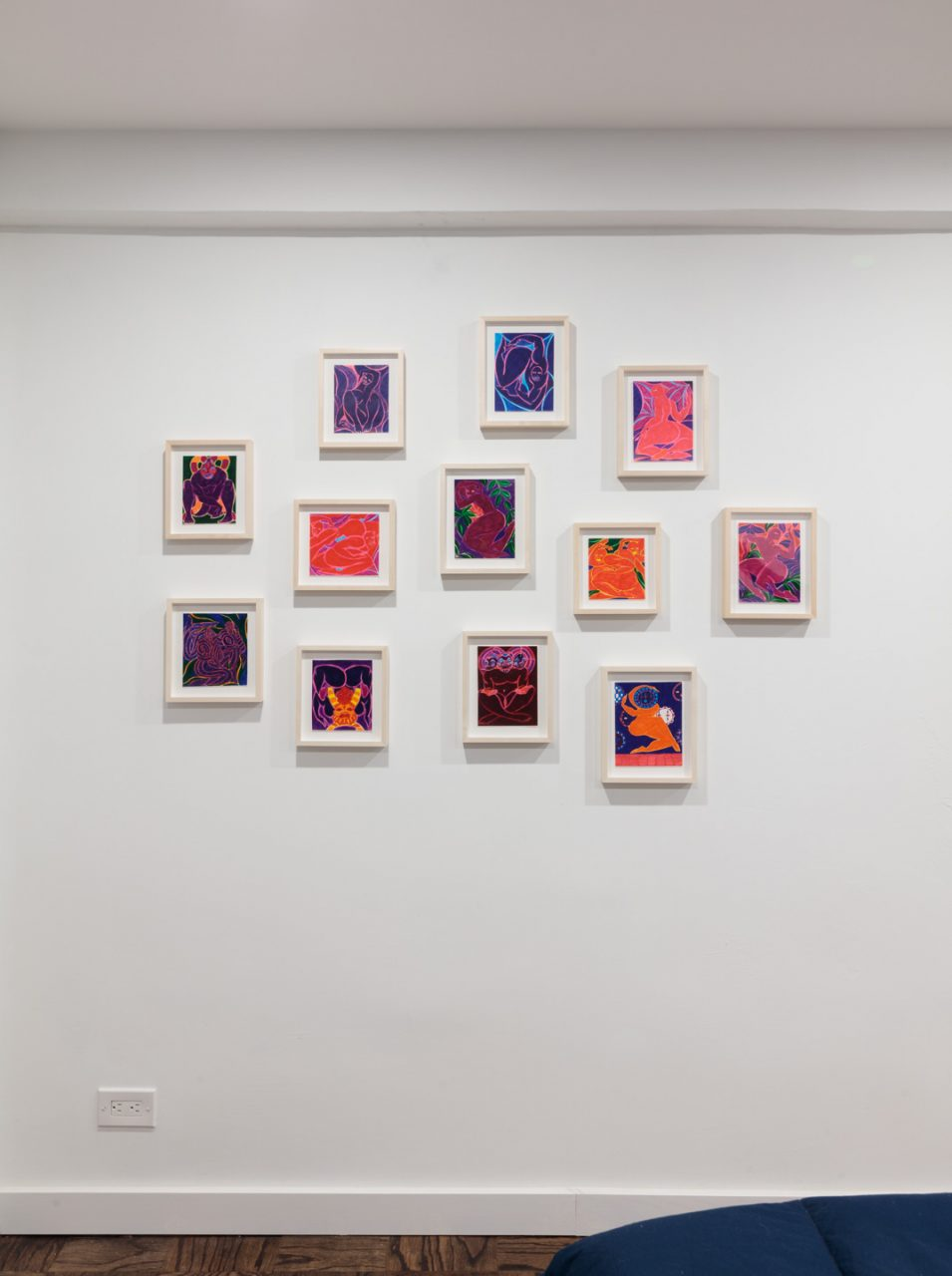 Works on Paper | Installation view, Works on Paper, 2018