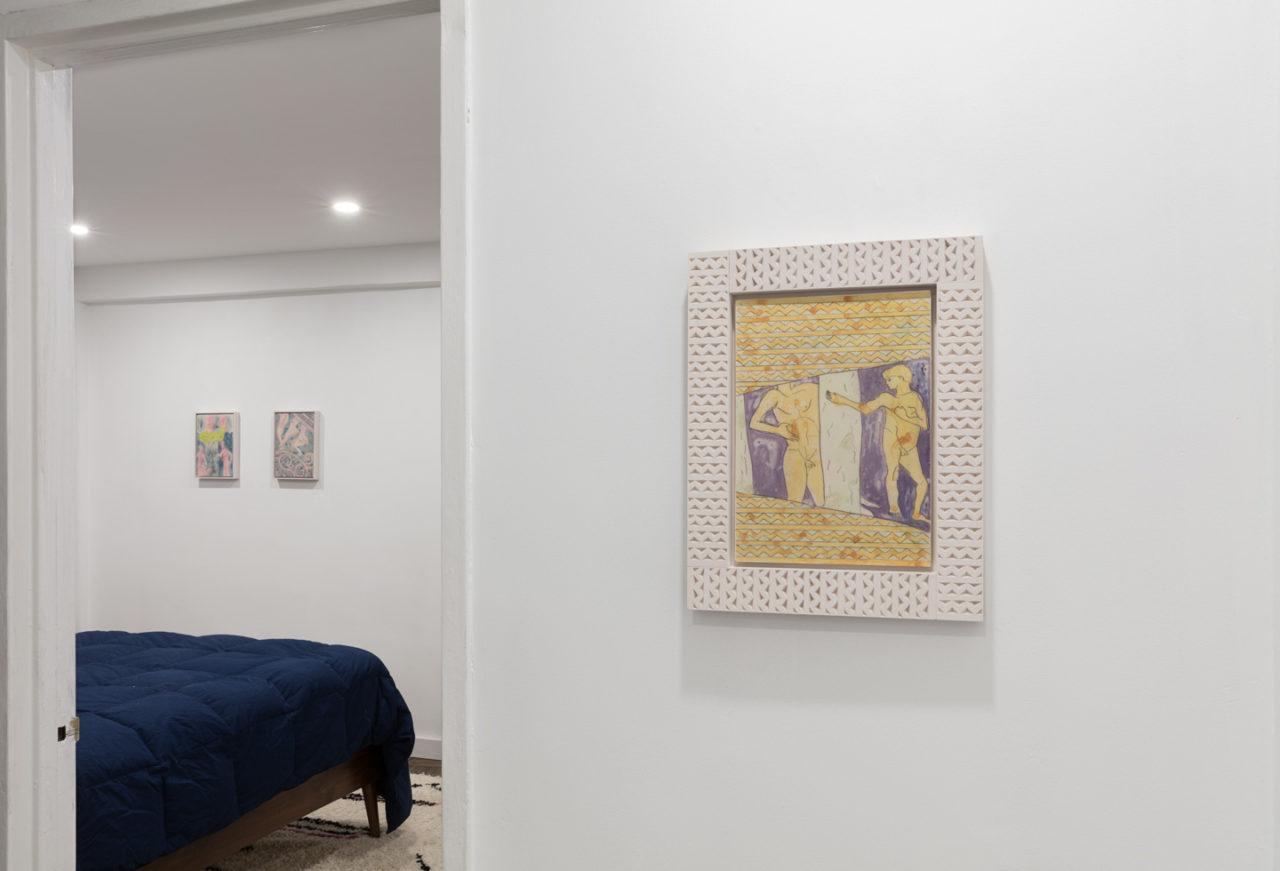 Fresco | Installation view, Ruby Sky Stiler, <i>Fresco</i>, 2019
