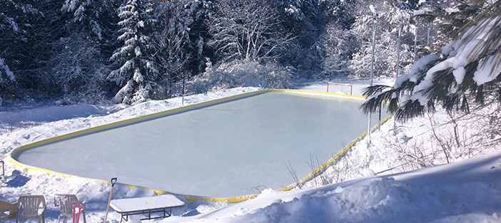 Build your own backyard ice rink nicerink easy to assemble at nicerink solutioingenieria Images
