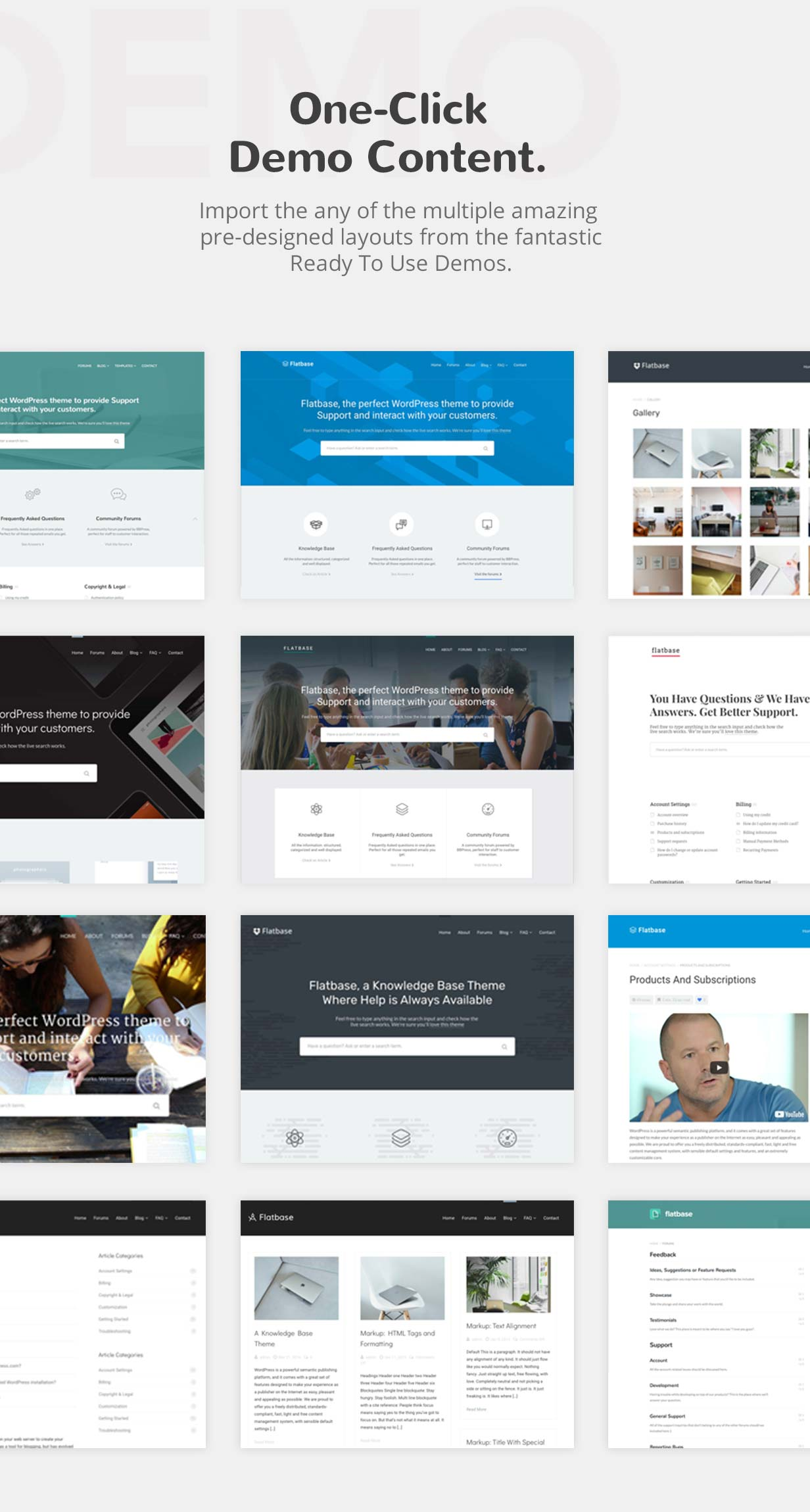Flatbase - A responsive Knowledge Base/Wiki Theme - 2