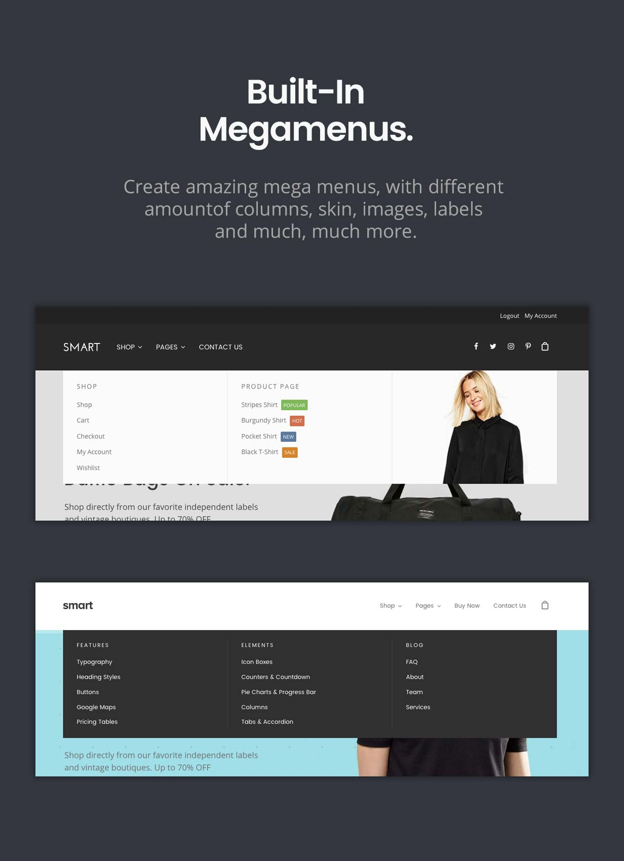 Smart — Responsive Multi-Purpose WordPress Theme