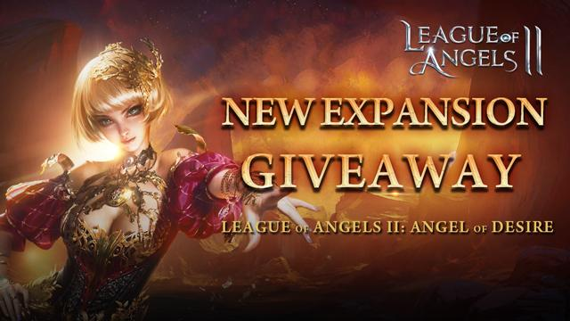 League of Angels 2: Angel of Desire New Expansion Giveaway - Apps To