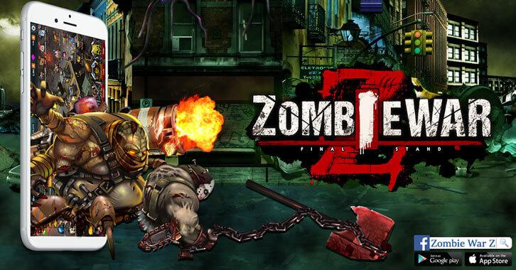 Guild World War Released in Zombie War Z's November Content Update