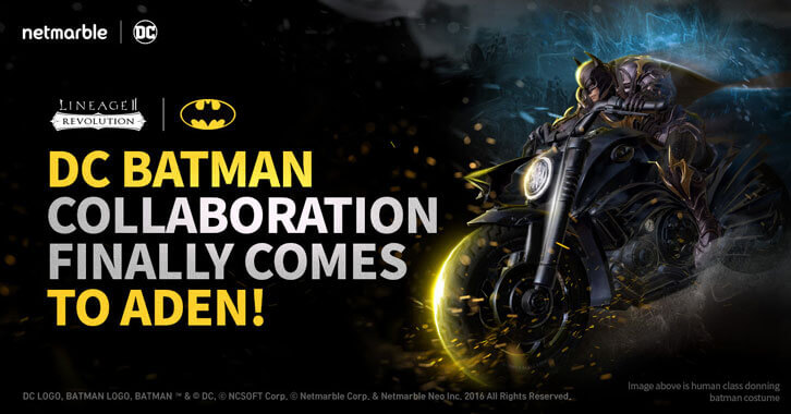 Batman and his Rogues Gallery Invades Lineage 2: Revolution in New Netmarble - DC Collaboration
