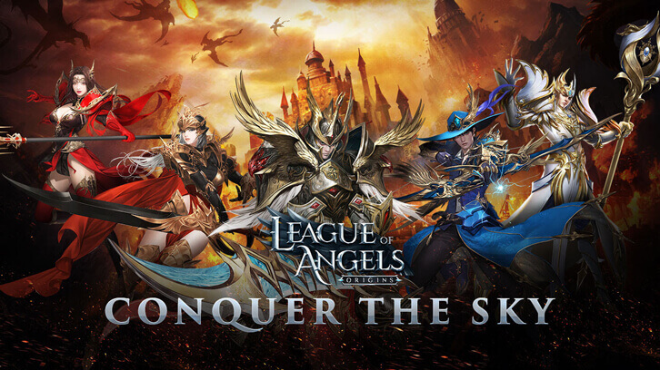 League of Angels Franchise Takes Flight as Origins Pre-Registration Tops One Million