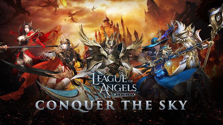 League of Angels Franchise Takes Flight as Origins Pre-Registration Tops One Million