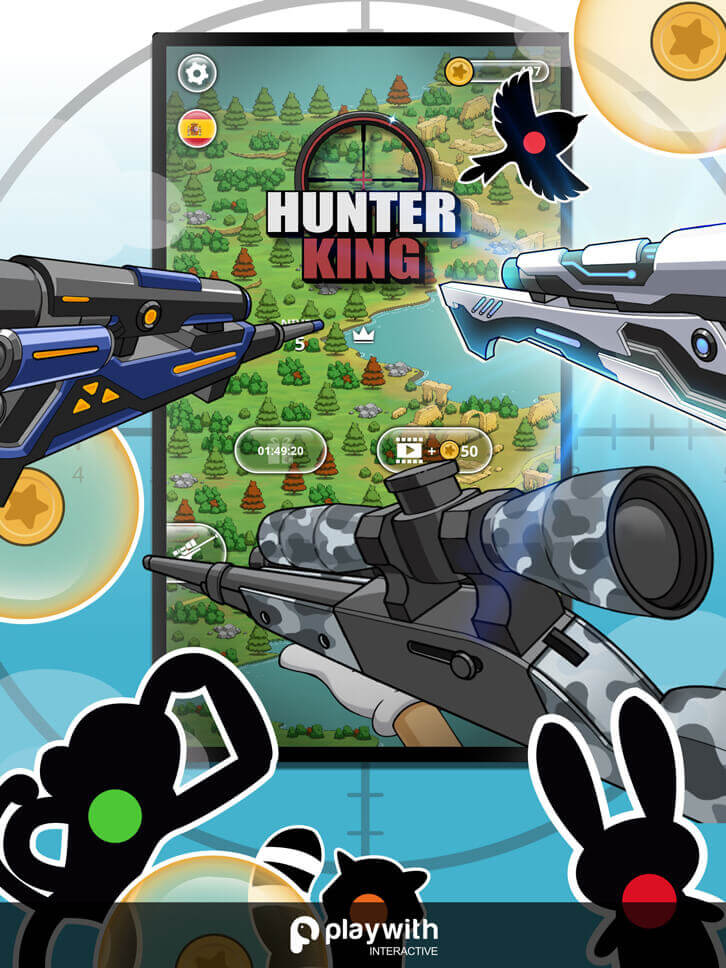 Hunter King is Released: The Most Addictive Hyper Casual Game is Finally Here!