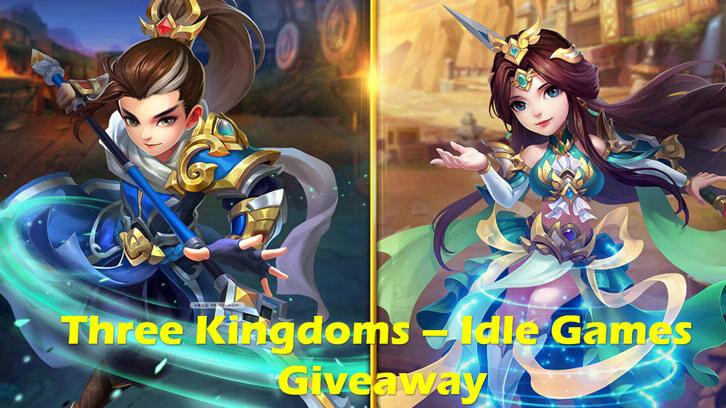 Three Kingdoms - Idle Games Code Giveaway