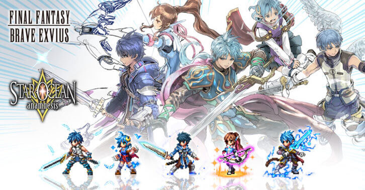 Star Ocean: Anamnesis Collaboration Event Begins in Final Fantasy Brave Exvius