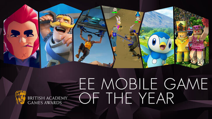 Old School RuneScape wins the EE Mobile Game of the Year at this year's BAFTA Games Awards