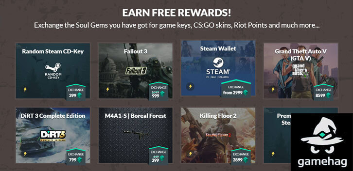 Earn Triple-A Games by Playing F2P Games on Gamehag