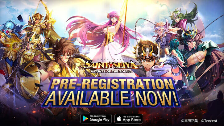 Pre-Register Now for Saint Seiya Awakening: Knights of The Zodiac