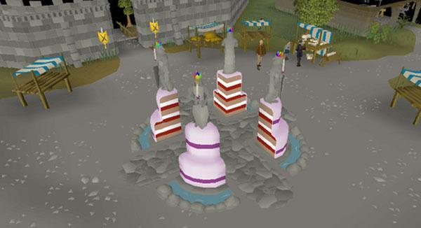Free Cake in Old School RuneScape Mobile to Celebrate First Birthday