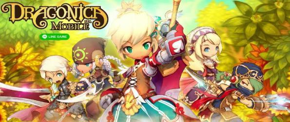 Dragonica Mobile -  Venture into Dragonica's beautiful online world and go on a journey to destroy the evil dragon named Elga!