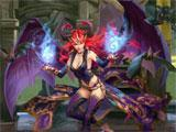 Succubus boss fight in Creature Quest