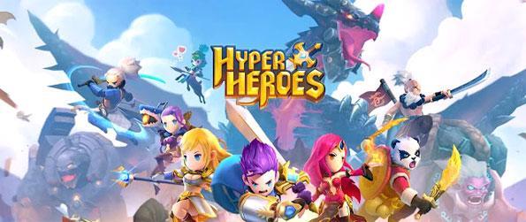 Hyper Heroes - Swipe and sling your heroes at the horde of enemies in Hyper Heroes.