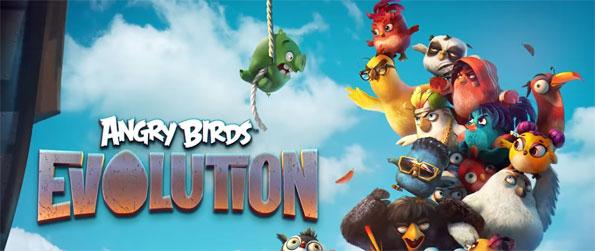 Angry Birds Evolution - Aim and shoot the enemies to fight evil in Angry Birds Evolution.