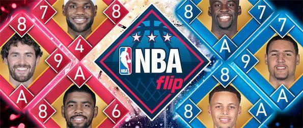 NBA Flip - Win over your opponents by capturing their cards.
