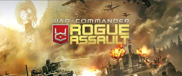 War Commander: Rogue Assault - Take control of your very own army in this engrossing MMO strategy game that does not disappoint.