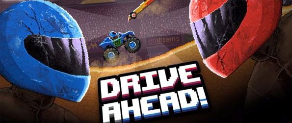 Drive Ahead! - Smash the opponent's head in cool rides in Drive Ahead!