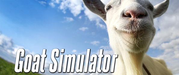 Goat Simulator - Play as an actual goat in this addicting simulation game that's captured the hearts of multitudes of people around the world.