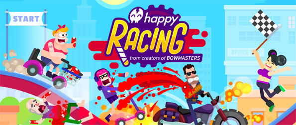Happy Racing - Conquer the crazy tracks in Happy Racing.
