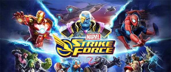 MARVEL Strike Force - Assemble a squad of heroes in this captivating RPG that you won't be able to get enough of.