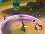 Fighting monsters in Blade & Wings