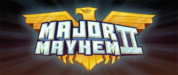 Major Mayhem 2 - Defeat the Evil Villains Corporation in Major Mayhem 2.