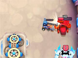 Destroying Enemy Troops in Orbital 1