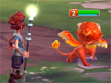 Might and Magic: Elemental Guardians intense battle