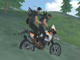 Riding a motorcycle in Crossfire: Legends