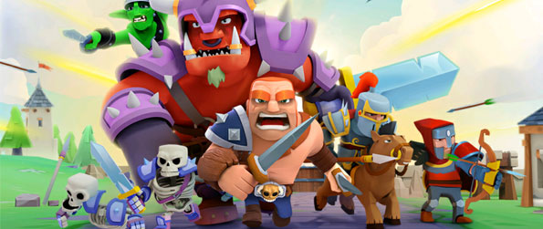 Game of Warriors - Deploy units to defend your towns and fight back by conquering enemies in this unique tower defense-like game!