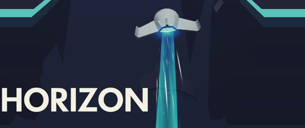 Horizon - Experience a beautiful endless flyer game where you get to control a cool, high tech spaceship.
