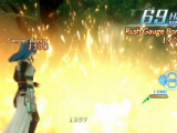 Unleashing a powerful spell in Star Ocean
