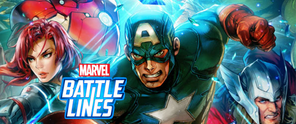 Marvel Battle Lines - Collect shards of the shattered cosmic cube to restore balance to the universe in Marvel Battle Lines!