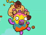 Burrito Bison: Launcha Libre: Riding a pinata