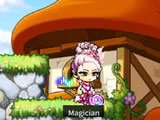 MapleStory M: In town