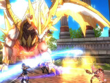 A golden dragon in Dawn Break: Legacy of Valkyria