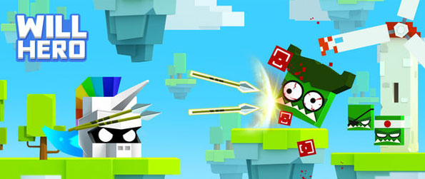 Will Hero - Make your way through the levels while fighting enemies and avoiding traps in Will Hero!