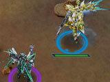 Warlocks dueling in Robot Tactics