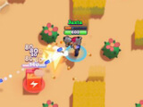 Destroying a box in Brawl Stars