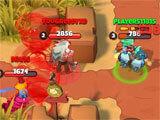 West Legends gameplay