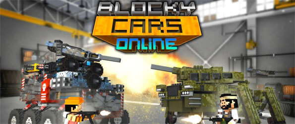 Blocky Cars - Create and customize your own car, add all your favorite weapons, and get ready to face millions of players online in Blocky Cars!