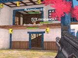 MaskGun: Shooting down enemies