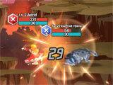 Phantomgate: The Last Valkyrie intense battle